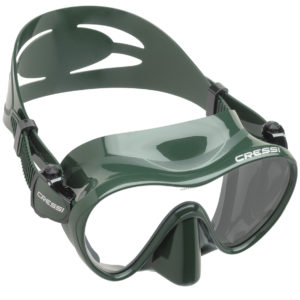 Cressi Frameless Green Snorkel Mask
