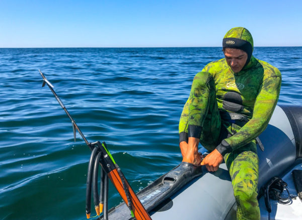Spearfishing in Punta Mita