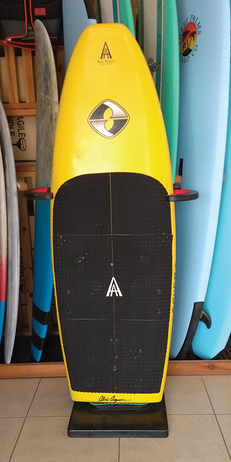 Kiteboard Aguera Yellow