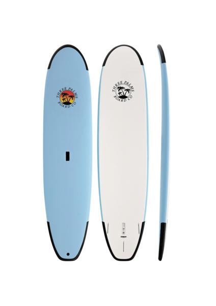 "Three Palms Soft Surfboard 7'4"""