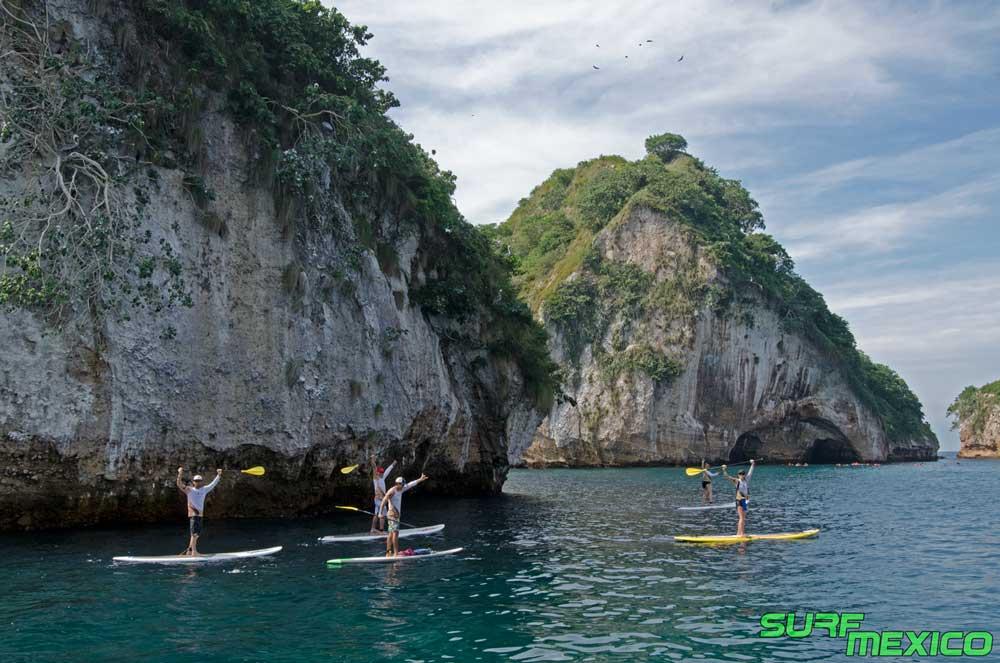 Los Arcos Paddle Board Safari En Puerto Vallarta